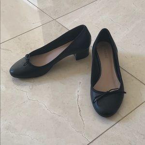 André black block heels!